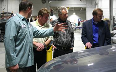 Chip Foose Visits Rick's Auto Body